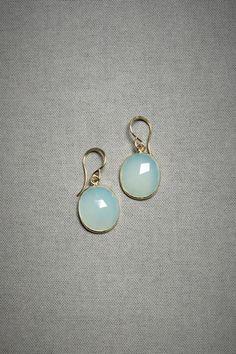 something blue? marina earrings, BHLDN