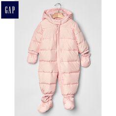Gap超温暖连帽羽绒一件式连体衣|婴儿684124-tmall.com天猫