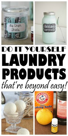 A list of AWESOME homemade laundry products I have found! Now I have some genius ways to do my laundry and save money! Got to pin for later!