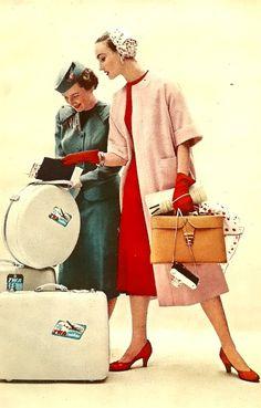 Evelyn Tripp for Charm Magazine, 1954 Moda Retro, Moda Vintage, Vintage Mode, Retro Vintage, Vintage Style, Vintage Cups, 1950s Style, Foto Fashion, Fashion Moda