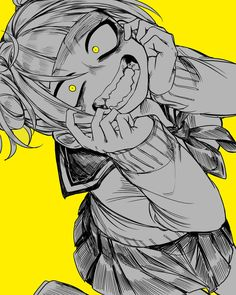 Boku no hero academia himiko toga my hero academia anime, my Yandere Girl, Yandere Anime, Animes Yandere, Chica Anime Manga, Otaku Anime, Anime Art, Hero Academia Characters, My Hero Academia Manga, Boku No Hero Academia