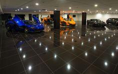 More than a Garage... A Basement Auto Gallery