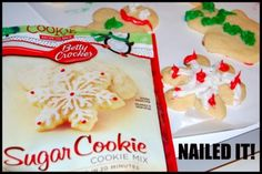 Christmas Cookies - Nailed It! - Everything Funny Snowflake Cookies, Christmas Cookies, Fail Nails, Pinterest Fails, Everything Funny, Lol, Betty Crocker, Christmas Humor, Sugar Cookies