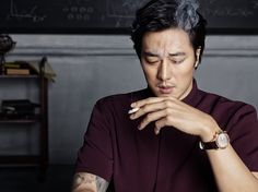 Archimedes Watch S/S 2015 Ads Feat. So Ji Sub | Couch Kimchi