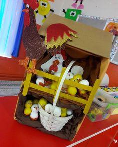 Farm Animal Crafts, Animal Crafts For Kids, Fun Crafts For Kids, Christmas Crafts For Kids, Art For Kids, Farm Activities, Spring Activities, Toddler Activities, Birds For Kids