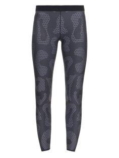 Ultra Silk Leo-print leggings by Ultracor  74f13e99da3
