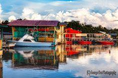 Boathouses of La Parguera, Puerto Rico | Flickr - Photo Sharing!