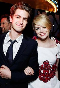 Most Stylish Celebrity Couples - Andrew Garfield and Emma Stone - from InStyle.com