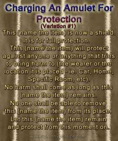 11 Protection Chant Variations For Various Protection Spells. These protection chants can be altered to your specific needs.