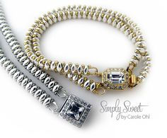 Simply Sweet Bracelet Tutorial by Carole Ohl por openseed en Etsy