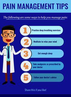 Pain Management Tips #byrxpharmacy #pain #management