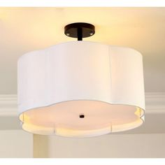 $164.50 / piece Fixture Width: 50 cm (20 inch) Fixture Length : 50 cm (20 inch) Fixture Height:37 cm (15 inch) Color : white Materials:fabric,iron
