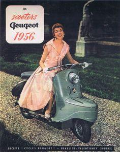 Peugeot scooters, Django scooter, vintage scooter, retro scooter, old time scooter, Peugeot scooter s55
