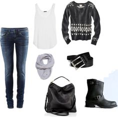 Winter Weather, created by mrscosentino on Polyvore