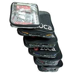 Zuca Pro Packing Pouch Set - 5 Large Color-Coded Utility Pouches and 1 Small Utility Pouch. for Zuca Sport or Pro Rolling Cases. Luggage Brands, Luggage Store, Luggage Sets, Zuca Bag, Makeup Bag Essentials, Utility Pouch, Thing 1, Luggage Accessories