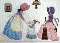 "Margaret, Variation #2.  ""Gentlewomen Bonnet Girls Relatives & Friends""  Churning $13.50."