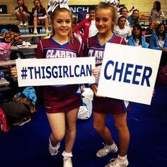 #thisgirlcan #cheer #sportingpromise #ukca