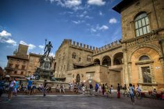 """""""Bologna, The Perfect Harmony of Piazza del Nettuno"""" by @1step2theleft"""