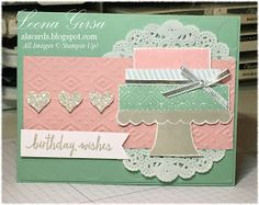 A La Cards: Build a {pretty} Birthday