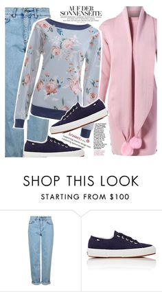 """""""Dream of spring"""" by vanjazivadinovic ❤ liked on Polyvore featuring Topshop, Superga, sammydress and polyvoreeditorial"""