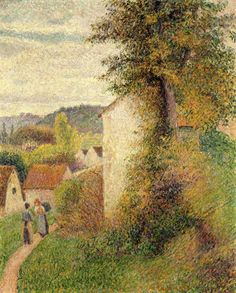 Camille Pissarro Il sentiero, 1889 Olio su tela, 72,4 × 59,7 cm Detroit Institute of Arts, City of Detroit Purchase (21.34)