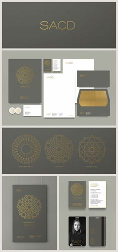 "branddesignclub: ""Branding for SACD - Sonia Ashour Cultural Design by Eight Hour Day - Brand Development """
