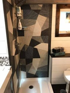 Shower Stall - Empty Nester by Kamtz Tiny Home Company