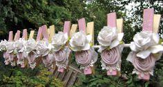 Beautiful paper roses