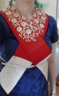 maiko collar with chikara nuno