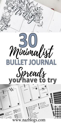 Minimalist bullet journal spreads are perfect for those who are busy, cannot draw or lack perfection in drawing, or are a beginner in their bullet journaling or people who prefer minimalism. Minimalist Bullet Journal Spread/Layout ideas which are super easy to recreate and you must definitely check out today! #minimalistbulletjournal #spreadideas