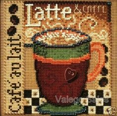 Mill Hill Buttons and Beads Counted Latte Cross Stitch Owl, Butterfly Cross Stitch, Cross Stitch Kitchen, Beaded Cross Stitch, Cross Stitch Charts, Cross Stitching, Cross Stitch Patterns, Types Of Embroidery, Embroidery Kits