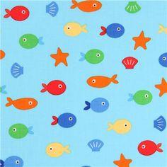 Süßer fisch aus den USA, Design: Ann Kelle