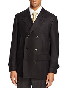 """This Canali Modern Fit Black Herringbone Three Button Italian New Men's Wool Coat Will Make a Great Addition to Your Wardrobe. This is a Coat Sale Only!       Famous Words of Inspiration...""""Life's Tragedy is that we get old to soon and wise too...  More details at https://jackets-lovers.bestselleroutlets.com/mens-jackets-coats/wool-blends-mens-jackets-coats/product-review-for-canali-modern-fit-black-herringbone-three-button-italian-new-mens-wool-co"""
