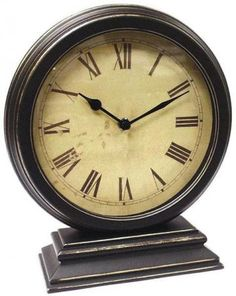 Timepiece - Round Table Clock - Clocks - Wall Decor - Home Decor | HomeDecorators.com