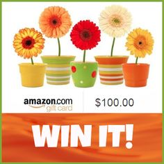 Pin for a chance at a $100 Amazon Gift Certificate - US, UK & Canada
