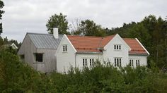 Gammelt hus, nytt tilbygg - Aftenposten