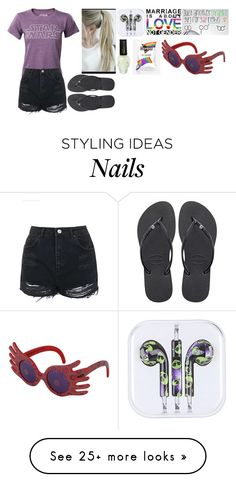 """""""Basically Me Today"""" by mattiebrogan on Polyvore featuring Topshop, Havaianas and INC International Concepts"""
