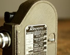 #Vintage 8mm Movie #Camera .. Revere Eight Model 88
