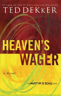 Heaven's Wager (The Heaven Trilogy Book 1) by Ted Dekker http://www.amazon.com/dp/B003DXPT0C/ref=cm_sw_r_pi_dp_ec1zvb05S1GT4