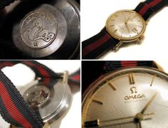 1960s Watch Omega Seamaster De Ville Caliber 560 by MisterBibs
