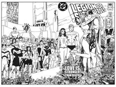 Legion of Superheroes Homage to X-Men 30 ( Infinite Timelines : A Multiplicity Of Murders - Chapter 31 ) Comic Art