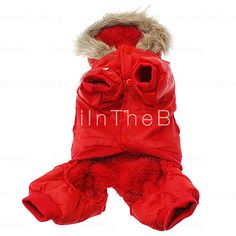 [EUR € 18.39]  - USA Top Gun style Manteau chaud avec Hoodies et pantalons pour les chiens