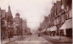 "The High Street,Kings Heath,""early Edwardian era"""