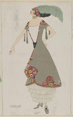 Fashion (Mode), Artist: Mela Koehler (Austrian, Vienna 1885–1960 Stockholm) Publisher: Published by Wiener Werkstätte Date: 1912