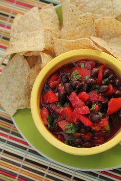 Evelyn's Salsa    Ingredients        1 can (16 oz.) black beans, drained and rinsed      1 1/2 c. fresh tomatoes, diced      1/2 bunch cilantro      3 Tbsp. balsamic vinegar      1 Tbsp. oil (optional)      3 Tbsp. lime juice      1 1/2 jalapenos, diced and seeded      1/4 tsp. tabasco sauce