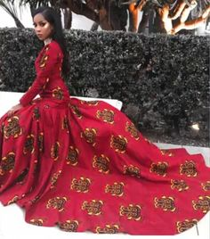 The most beautiful collection ankara aso ebi styles of 2018 you must try. These beautiful aso ebi are very exotic African Prom Dresses, African Wedding Dress, African Dresses For Women, African Attire, African Wear, African Women, African Style, African Outfits, African Beauty