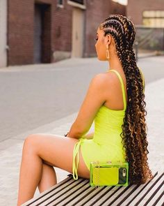 Bohemian feed in braids are one of the must-have styles for women. With this look you get the best of both worlds - voluminous curls and gorgeous braids.