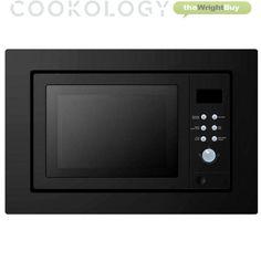 Cookology IMOG25LBK 25L Large 60cm Black Built-in Combi Microwave Oven & Grill · $169.99 Built In Microwave Oven, Splashback, Grilling, Kitchen Appliances, Amazon, Black, Diy Kitchen Appliances, Home Appliances, Amazons
