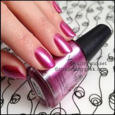CND vinylux Sultry Sunset paradise summer 2014
