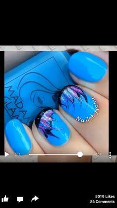 Blue peacock design